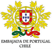 Embajada de portugal chile logo