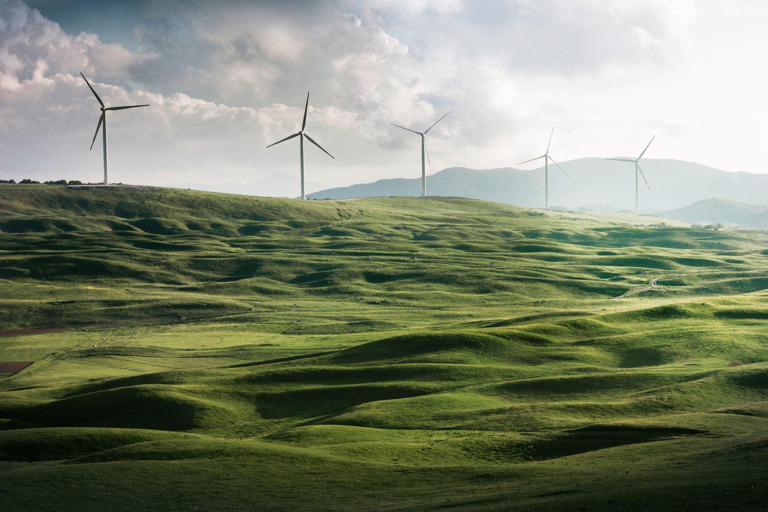 Aerogenerador vertical de energía eólica green visa